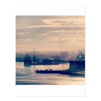 Porto de Aberdeen Cartão Postal