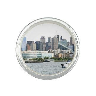 Porto de New York Anel