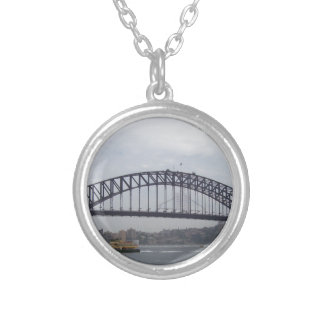Porto de Sydney Colar Banhado A Prata