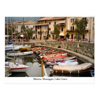 Porto, Menaggio, lago Como 2 Cartão Postal