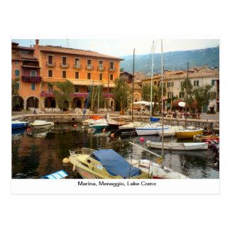 Porto, Menaggio, lago Como Cartão Postal
