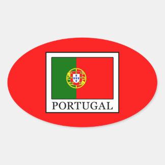 Portugal Adesivo Oval