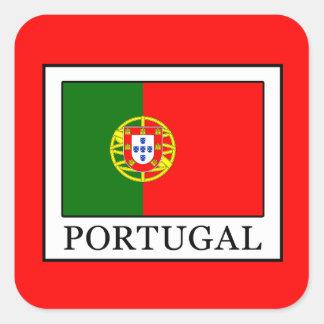 Portugal Adesivo Quadrado