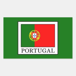 Portugal Adesivo Retangular
