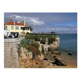 Portugal, Cascais. Praia a Dinamarca Rainha, uma Cartão Postal