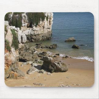 Portugal, Cascais. Praia a Dinamarca Rainha, uma p Mouse Pads