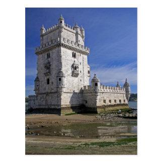 Portugal, Lisboa. Torre de Belém, um mundo do Cartão Postal