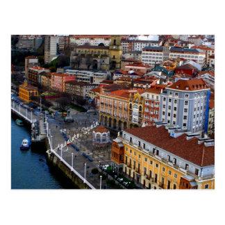 Portugalete, espanha cartão postal