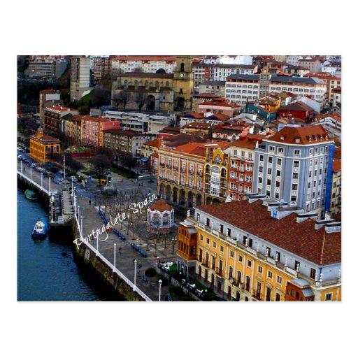 Portugalete, espanha cartoes postais