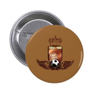 Portuguesa de Brasão dos fás de futebol Boton