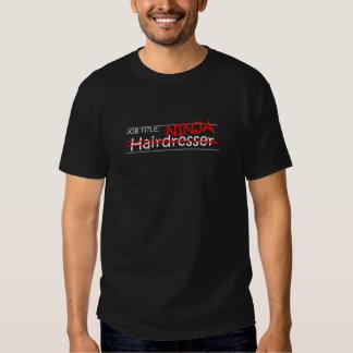 Posição Ninja - cabeleireiro T-shirt