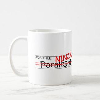 Posição Ninja - Paralegal Caneca De Café