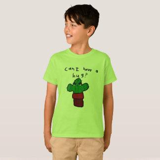 """""""Posso eu ter um abraço?"""" O t-shirt do miúdo"""