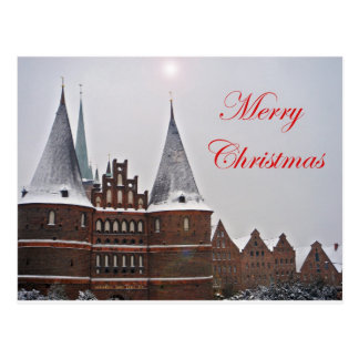 Postcard - Merry Christmas Cartão Postal