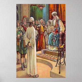Póster 26:57 de Matthew - 68 o padre alto questionam