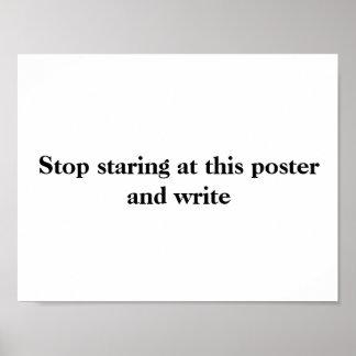 Poster #2 da escrita