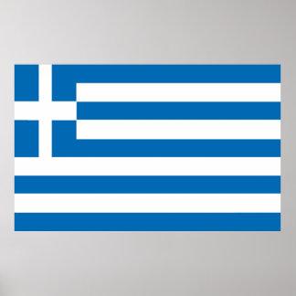 Poster A bandeira nacional da piscina