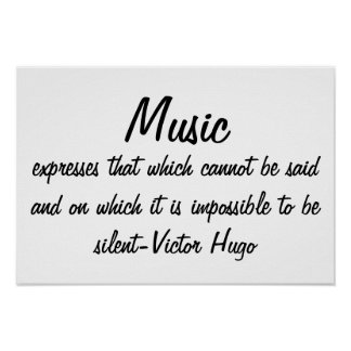 Póster A música expressa…