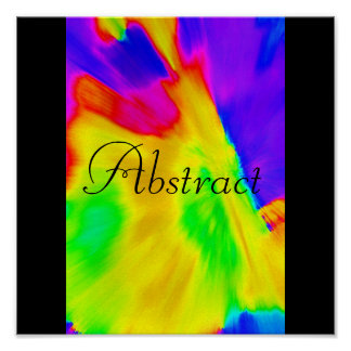 Poster abstrato