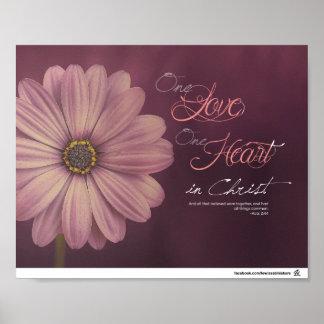 Póster Actua o 2:44 - um amor, um coração no cristo