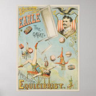 Poster americano de Edward Earle do executor de