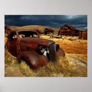 Poster americano rústico da paisagem