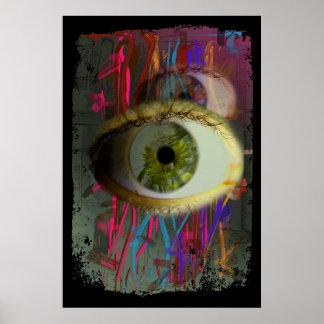 poster - augen abstractos