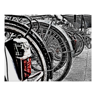 Poster Bikes