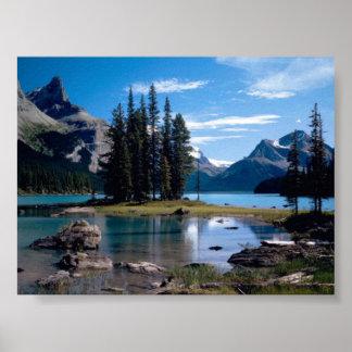 Poster bonito da paisagem