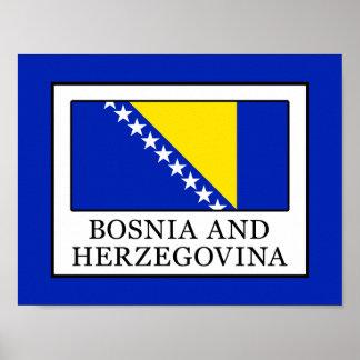 Póster Bósnia e Herzegovina