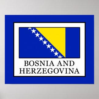 Poster Bósnia e Herzegovina