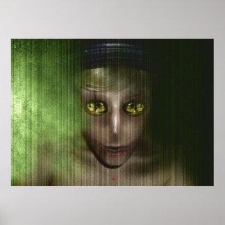 Poster brutal de Alienphuzion do musa