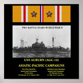 POSTER CASTANHO-ALOIRADO DE USS AGC-10