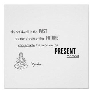 Póster CITAÇÕES: Buddha - momento atual