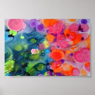 Poster da arte abstracta