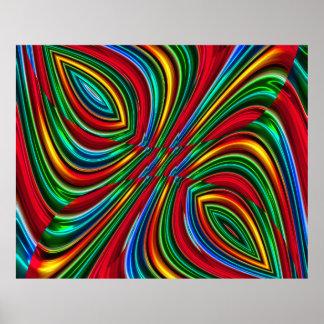 Poster da arte abstracta 133