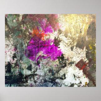 Poster da arte abstracta 142