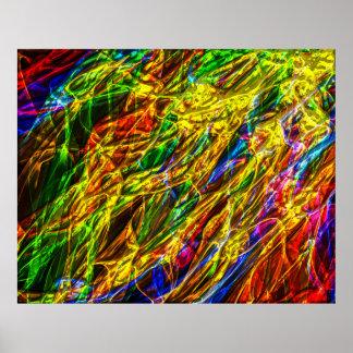 Poster da arte abstracta 143