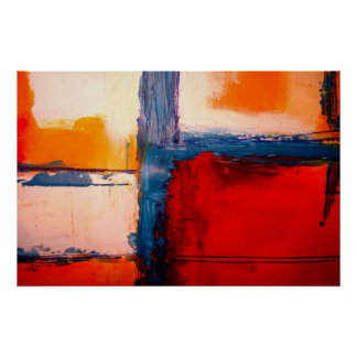 Poster da arte abstracta moderna - impressão minim