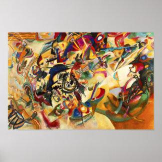Poster da composição VII de Kandinsky Pôster