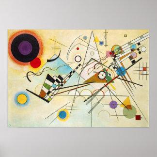 Poster da composição VIII de Kandinsky Pôster