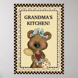 Poster da cozinha da avó