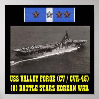 POSTER DA FORJA DO VALE DE USS CV CVA-45