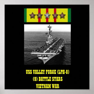POSTER DA FORJA DO VALE DE USS (LPH-8)