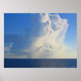 Poster da fotografia da nuvem