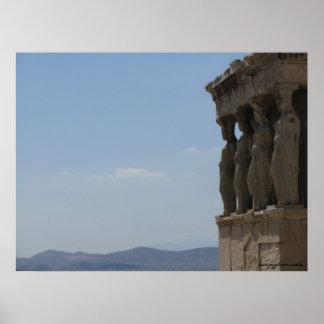 Poster da fotografia da piscina de Atenas