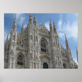 Poster da fotografia de Milão, Italia