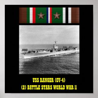 POSTER DA GUARDA FLORESTAL DE USS (CV-4)