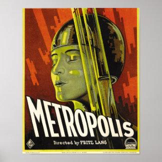Poster da metrópole