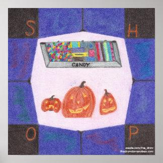 Poster da parada da loja dos doces